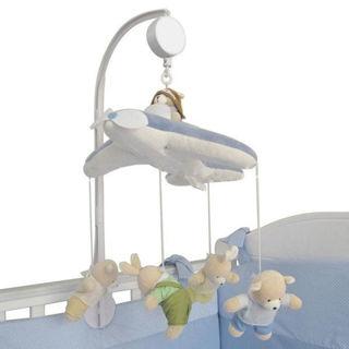 Crib Bed Toys Clockwork Movement Music Box Kids Bedding Toy