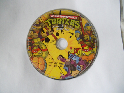 Teenage Mutant Ninja Turtles Episode 3 - A Thing about Rats