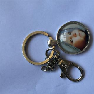 PERSONALIZED PHOTO PENDANT Custom Keychain Photo of Your Baby Child