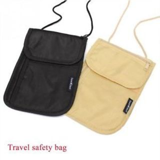 Holder Pouch Bag Passport Holder Travel Bag Wallet Money Document ID Card Holder