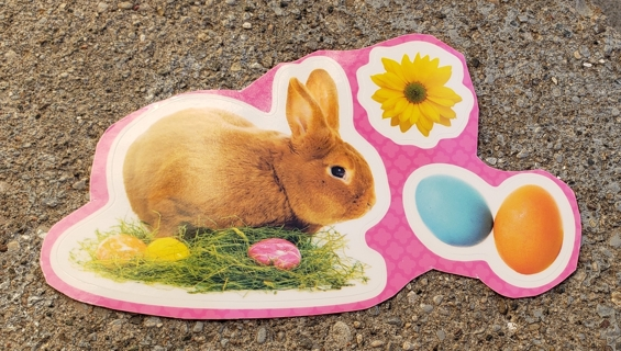 EASTER WINDOW CLINGS LOT 2