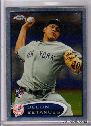 DELLIN BETANCES, 2012 Topps Chrome ROOKIE RC Card #167