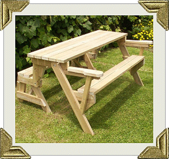 Free Folding Bench And Picnic Table Combo Plans Other Craft Items