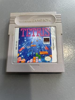 Vintage Nintendo Gameboy Tetris Game