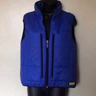 DKNY Jeans Puffer Vest, Sz Medium