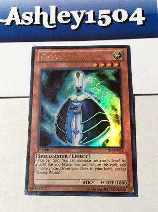 Yu-Gi-Oh! - Galaxy Wizard ZTIN-EN011 1st ed Ultra Rare Yugioh Cards TCG