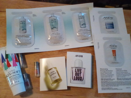 Avon Sampler Plus Lot: New (Great Stocking Stuffers)