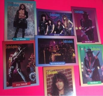 7 Winger 1991 Cards!