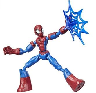 Spider-Man Marvel Bend and Flex Action Figure Toy, 6-Inch Flexible Figure
