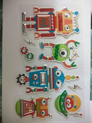 Robot stickers #2