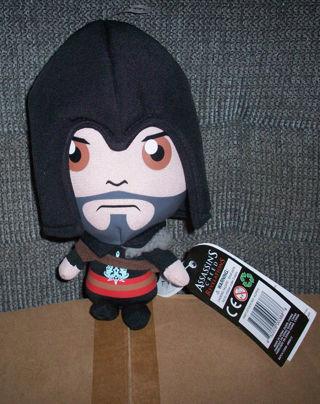 NEW Assassin's Creed Plush Doll Brotherhood Ezio Plush Video Game Plush Figure FREE SHIPPING
