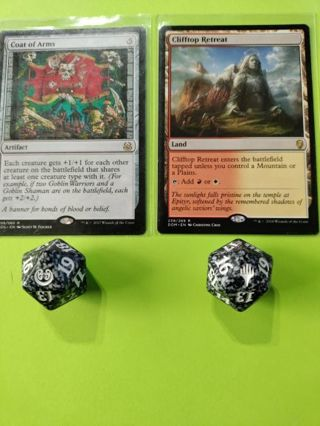 Magic the Gathering Dice + Rare Lot