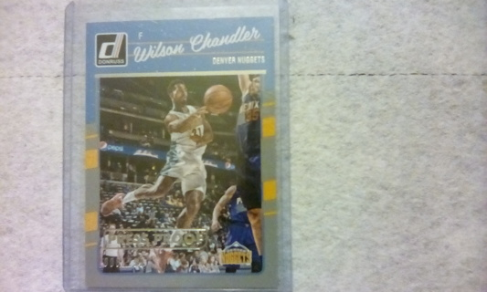 2016-17 Panini Press Proof Numbered 008/299 Card Of Wilson Chandler Mint