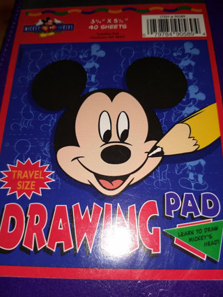 1 Mickey Mouse Drawing Pad