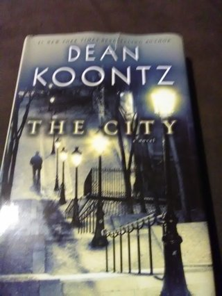 Like New Book. The City by Dean Koontz