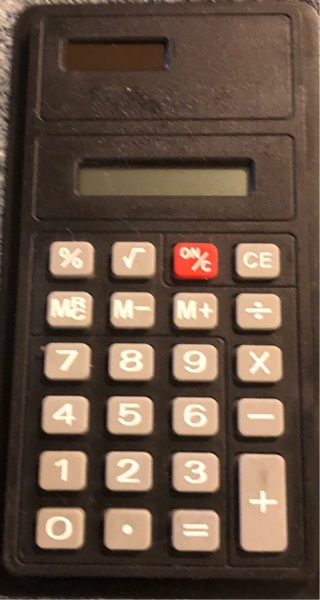 BNWOT Multi Functional Calculator. Pocket / Purse Sized. Great For Office / Classes.