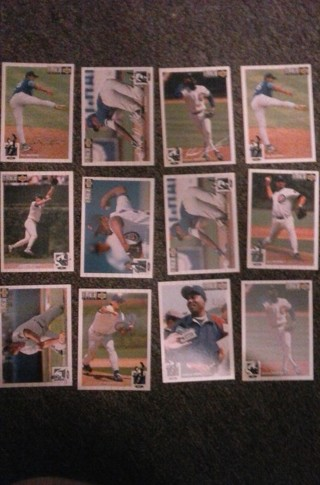 12 card chicago cubs lot inserts