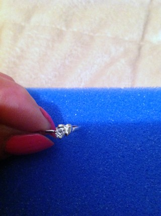 Silver and CZ Ring