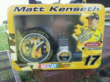 NASCAR Clock and watch