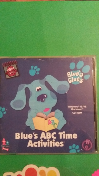blue's abc time activities free shipping