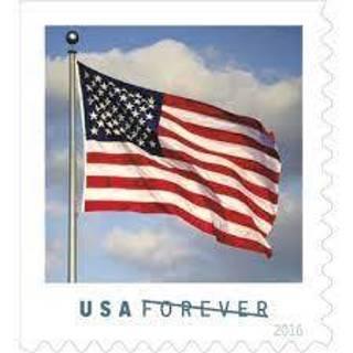 20 Forever Flag Stamps