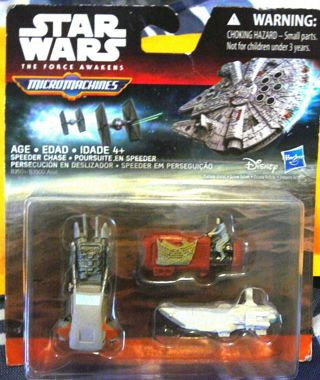 """Collectible Star Wars Micromachines, """"The Force Awakens"""" Land Speeder"""