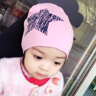 Brand Baby Hat Knit Cotton Cartoon Bear Batman Print Baby Caps For Boys Girls Spring Autumn Winter