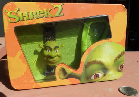 Brand new Shrek watch in a metal dispaly box