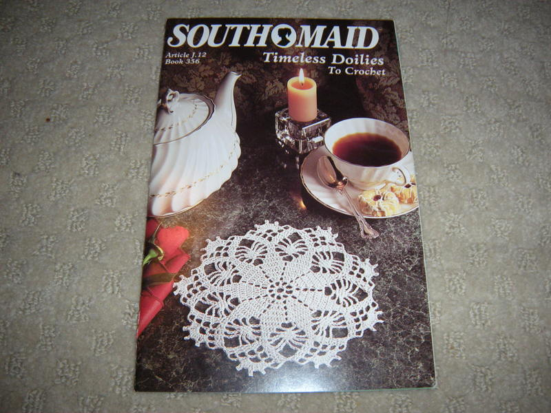 Free South Maid Crocheted Pattern Timeless Doilies To Crochet