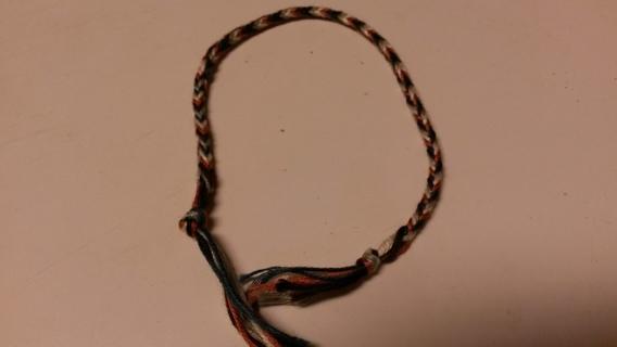 friendship bracelet/anklet
