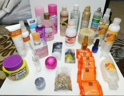 HUGE Beauty Lot - 24 Pieces NEW Over $$$$$$ In Merchandise