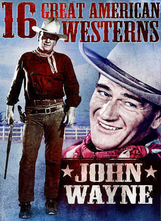 16 Great American Westerns Dvd Movies on 3 Discs:John Wayne,Burt Lancaster,Tex Ritter-New & Sealed