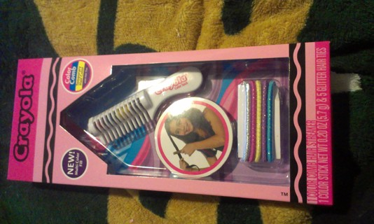 free nib crayola hair dye color comb neat brush the temp dye in