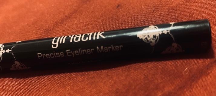 NEW Girlactik Precise Marker Eyeliner - Black