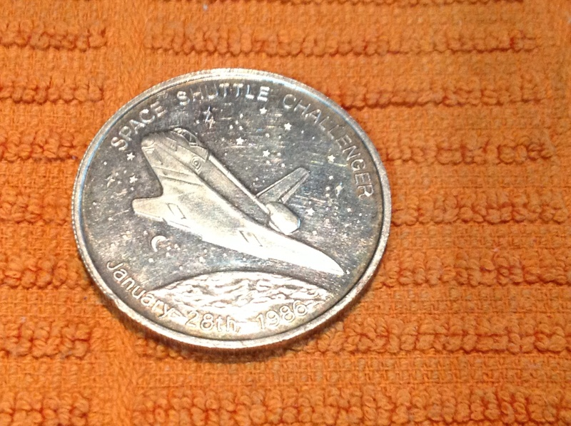 space shuttle challenger coins - photo #5