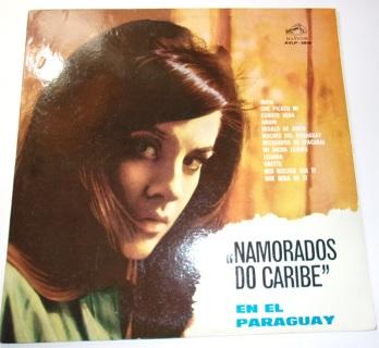 Namorados Do Caribe-No Paraguai-En El Paraguay-Made in Argentina-RCA Victor AVLP 3818-LP Exc