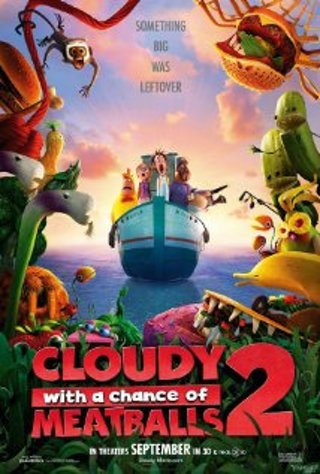 Cloudy With a Chance of Meatballs 2 HDX Ultraviolet code
