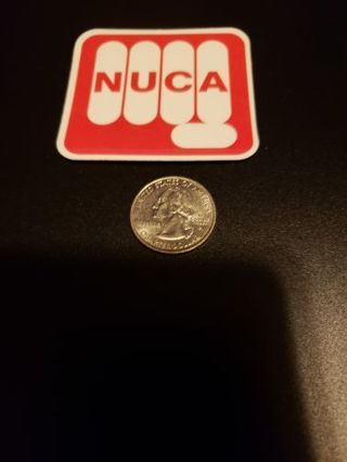 NUCA Vinyl Sticker Decal Laptop Phone Bike Skateboard Sticker bomb