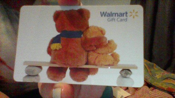 $10 Walmart Card