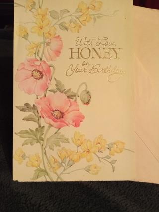 SWEETHEART BIRTHDAY CARD