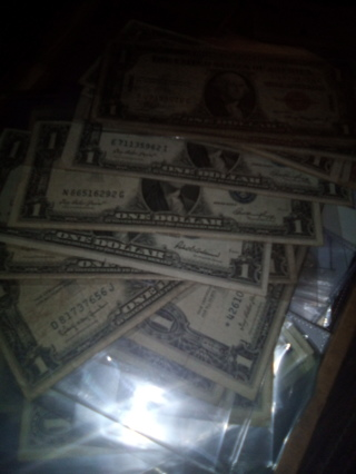 1935 Silver Certificate, and 1957 Silver Certificate
