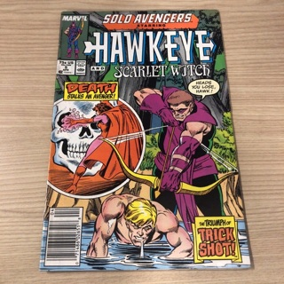 Marvel 1988 Solo Avengers Hawkeye #5