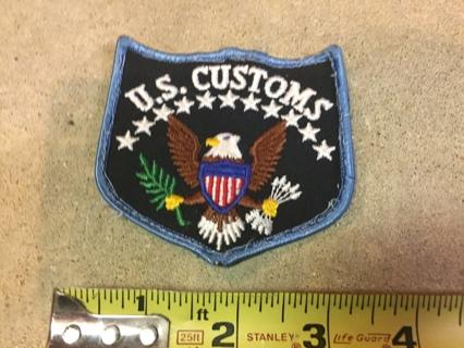 US Customs Patch