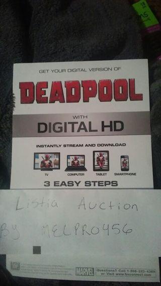 Deadpool *HD Digital Copy*