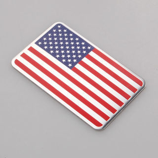 New 3D USA America United States Flag Fender Emblem Badge Sticker Decal 8 x 5cm