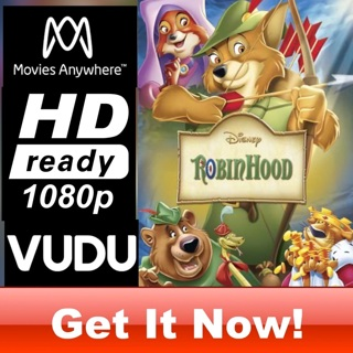 ROBIN HOOD HD MOVIES ANYWHERE OR VUDU CODE ONLY