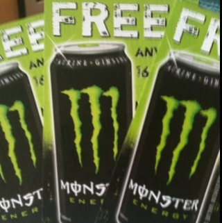 3 Free Monster Energy Drink Coupons