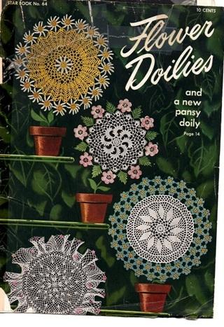 Star Book FLOWER DOILIES - Booklet #64