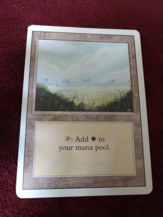 MTG Revised Plains