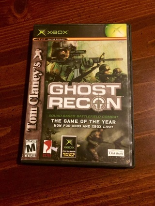 Xbox Tom Clancy's Ghost Recon